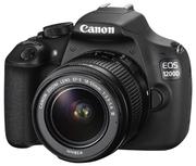 Фотоаппарат зеркальный Canon EOS 1200D + 18-55 DC III Kit (черный)