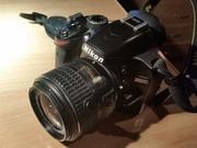 Nikon D3200 + Nikkor 18-55 VRII