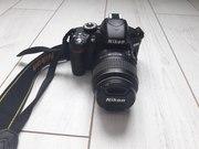 Nikon D3200 с объективом Kit 18-55mm