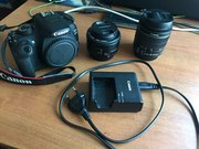 Продам Canon 1200 D EOS EF-S 18-55 IS ll Kit